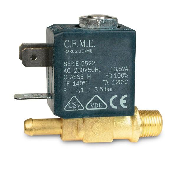 CEME Magnetventil 1/8 für LauraStar G4-G5-iG5-G7-iS5-iS6 Dampfbügelstation