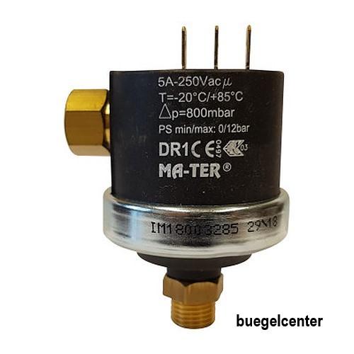 Mater Differenzdruckschalter DR1 1/4 Zoll