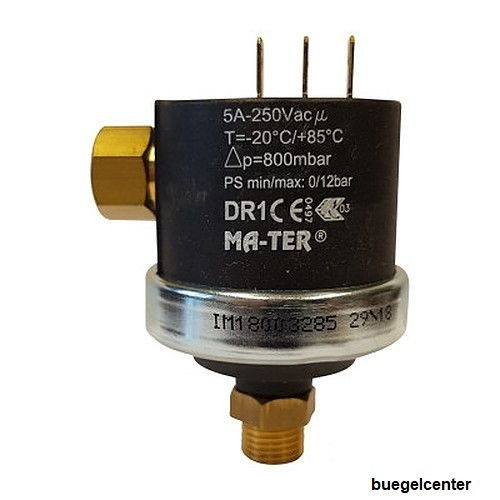 "Mater Differenzdruckschalter DR1 G1/4"""