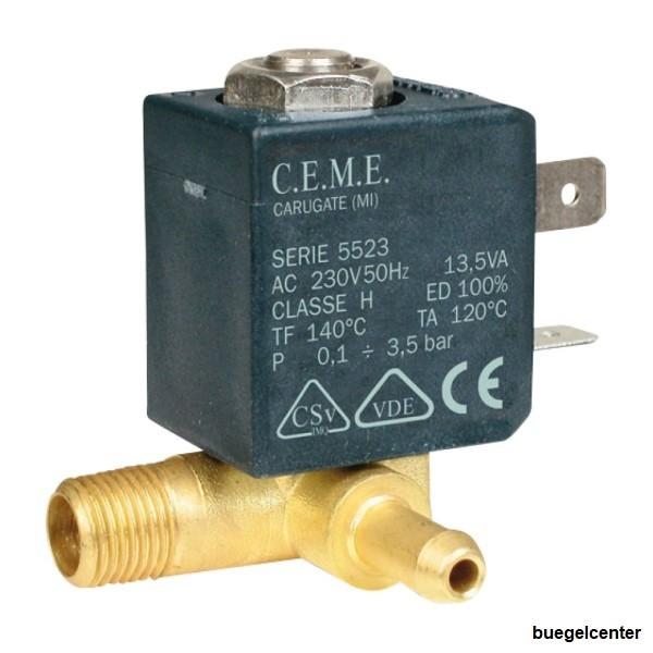 Ceme 588/5523 1/8 Magnetventil für Laurastar 714 Compact Dampfbügelstation