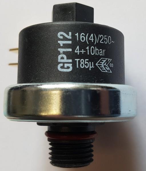 Druckschalter Mater GP112 4-10bar G1/4 einstellbar - Ma-ter GP112