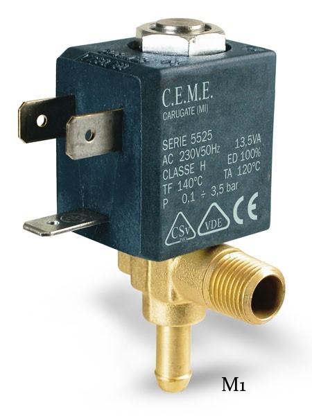 5 verschiedene Magnetventile für Dampfbügelstationen-Dampfgeräte