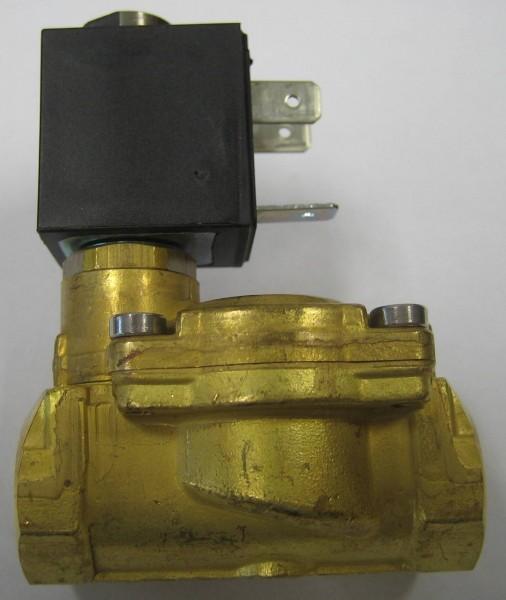 """OLAB Magnetventil Messing 1/2"""" 230V-12V-24V 0,1-15bar stromlos geschlossen* Medien: Wasser, Öl, Luft"""