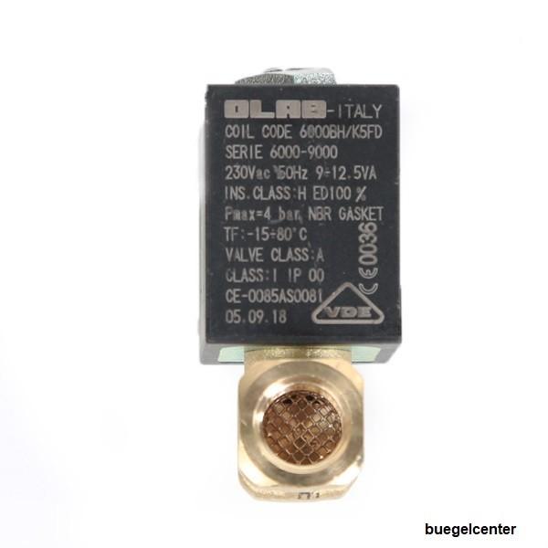OLAB 6000 Magnetventil 2/2 für Gasheizung *Gas Heizstrahler *Wasser *Luft *Dampf