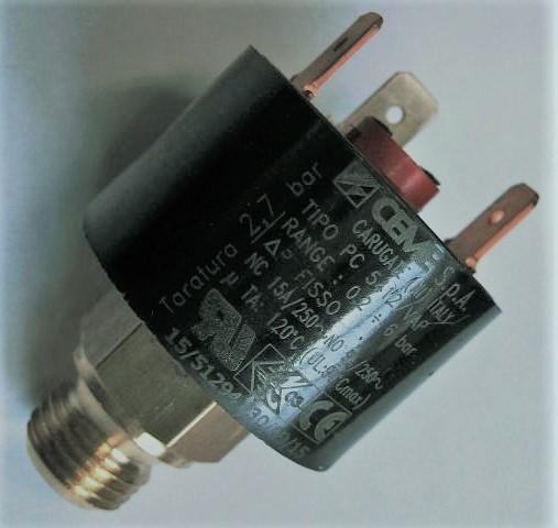 CEME 5412 Druckschalter 0,2 - 6bar 230V Dampfbügelstation-Druckluftanlagen-Pumpensteuerung