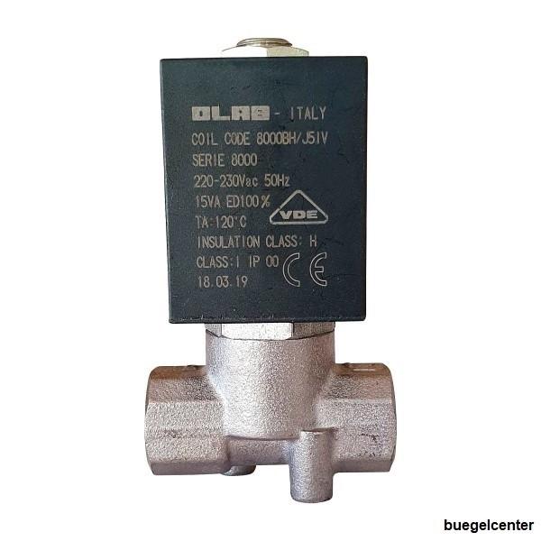 OLAB 8000 Magnetventil 230V 24V/AC 24V/DC für Wassermann Wasi-Steam Classic Dampfstrahler