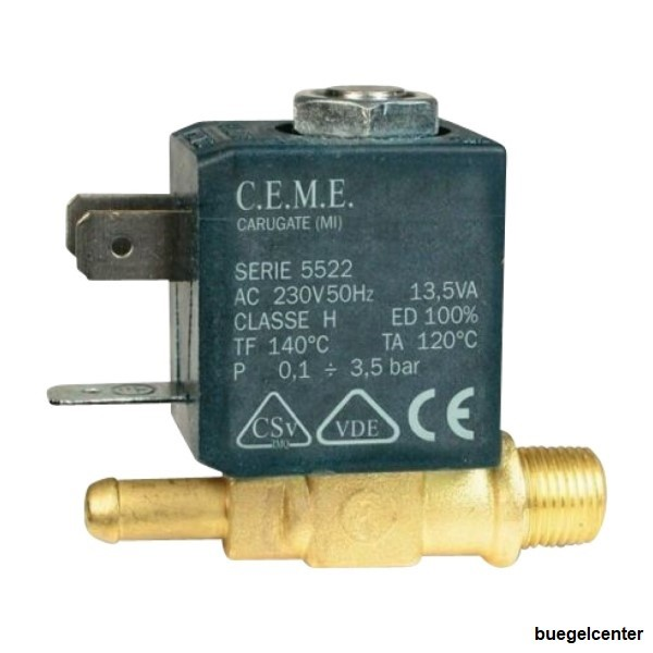 CEME 5522 Magnetventil 1/8 für LauraStar G4-G5-iG5-G7-iS5-iS6 Dampfbügelstation