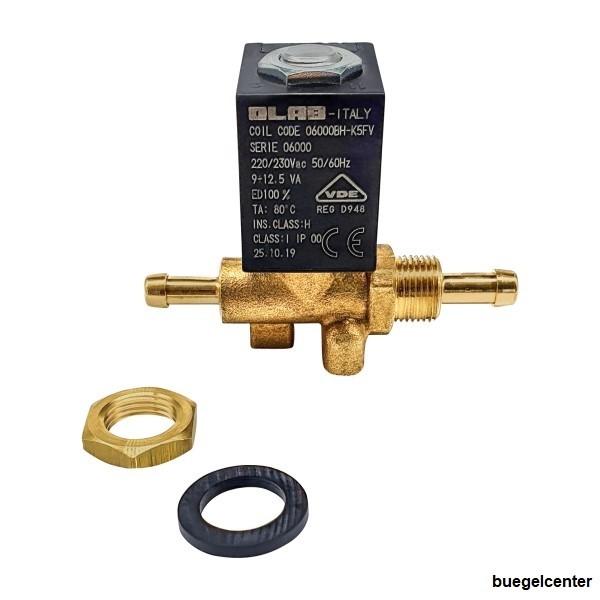 OLAB Magnetventil Schweißgeräte MIG MAG WIG 230V/50Hz - 12V/AC/DC - 24V/AC/DC - 42-48V/AC 2/2 Wege