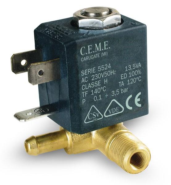 Ceme 588/5524 Magnetventil 230V/50Hz für Tefal GV....und Rowenta DG.... Dampfbügelstation