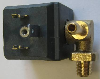 CEME 688 Magnetventil 1/8 Zoll Anschluss für Dampfreiniger * Dampfbügelstation