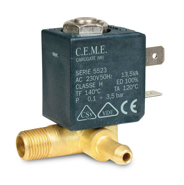 CEME 5523 Magnetventil 230V, auch kompatibel mit Magnetventil Jiayn JYZ-3 * JYZ-4P