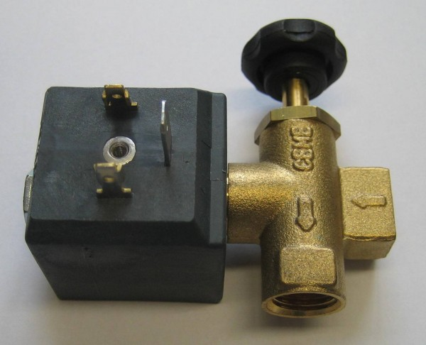 CEME 688 Magnetventil 1/4 Zoll mit Dampfregulierung