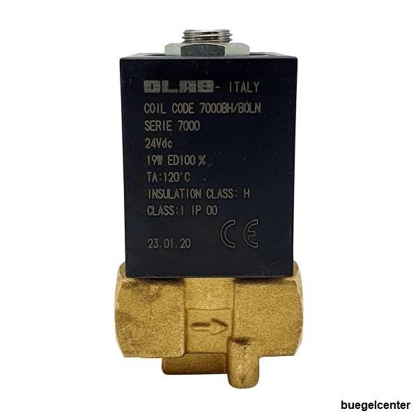 "OLAB 7000 Magnetventil G1/4"" 230V/50Hz - 24V/AC - 24V/DC 2/2 Wege"