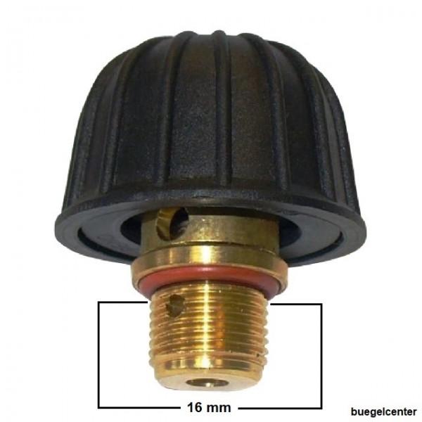 3/8 Zoll Sicherheitstankverschluss für Euroflex * Singer * Pfaff * Knittax Dampfgeräte
