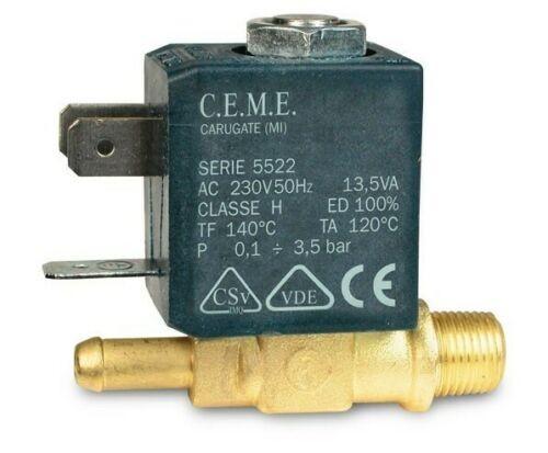 CEME 5522 Magnetventil G1/8 Zoll 230V/50Hz