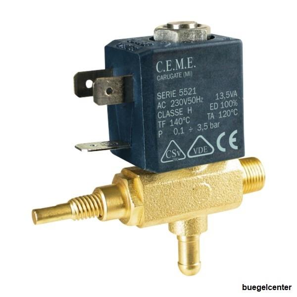 CEME 5521 Magnetventil mit Dampfregulierung 12V - 24V - 230V kompatibel mit OLAB Magnetventil