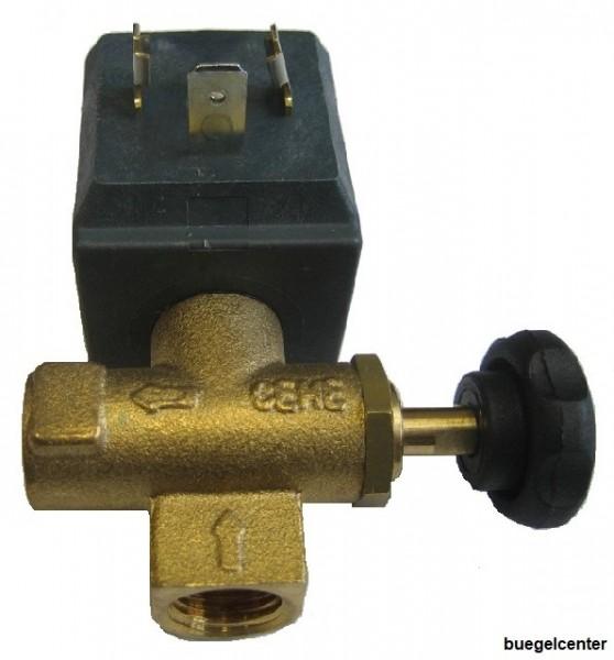 CEME 6660 Magnetventil 1/4 Zoll Comel Kleindampferzeuger Bieffe Kleindampferzeuger