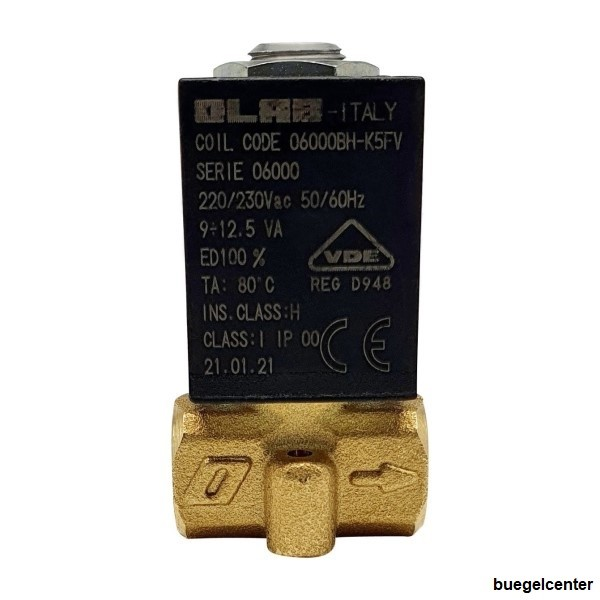 OLAB 6000-9000 Magnetventil 230V - 24V/AC - 24V/DC 2/2 Wege