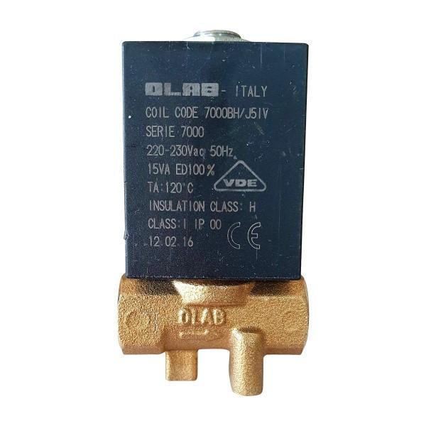 "OLAB 7000 Magnetventil 230V 15VA, 24V/AC 15VA oder 24V/DC 19W G1/8"" 2/2 Wege"