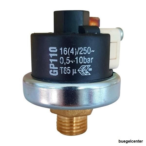 Mater Druckschalter GP110 0,5-10bar G1/4 Zoll voreingestellt 4,6bar
