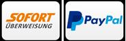 Sofort Überweisung & PayPal